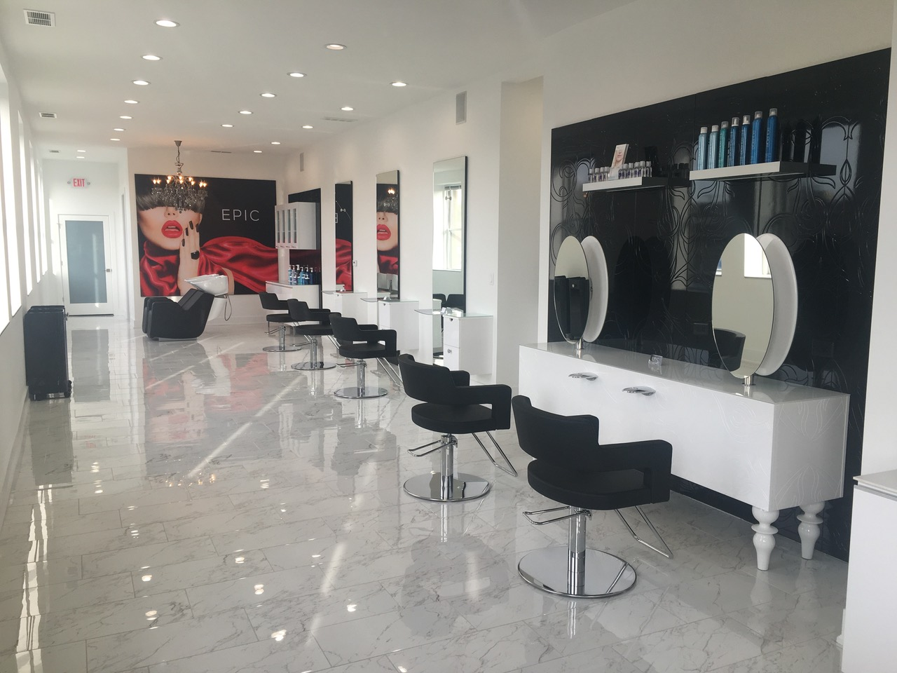 House of salons salon suites salon rentals for A b salon republic